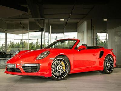 käytetty Porsche 911 Turbo S 991.2 Cabriolet *Huippuvarusteilla* - Takuu 12kk/20000km