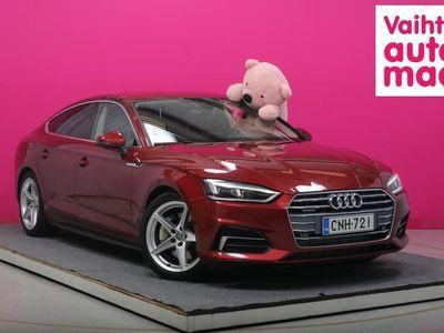 käytetty Audi A5 Sportback Comfort Business Sport 2,0 TFSI 185 kW quattro S tronic #1-om. #Webasto #Urheiluistuimet #Nahat #Matri...