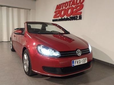 käytetty VW Golf Cabriolet 1,4 TSI 118 kW (160 hv) DSG-automaatti