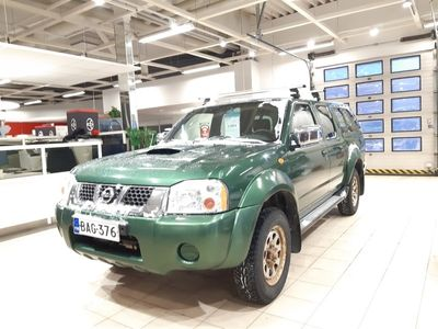 käytetty Nissan PickUp Cab DOUBLE CAB2.5DI-CPUD22-4X4/295