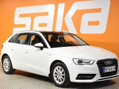 käytetty Audi A3 Sportback g-tron 1,4 TFSI CNG 81 kW S tronic ** Lohkolämm. / Panorama / P-Tutka / Bluetooth **