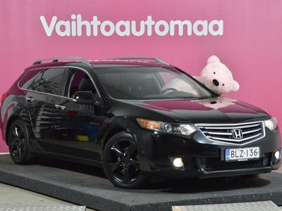 käytetty Honda Accord Tourer 5 2,0 Elegance AT Business # Tilava perheauto # Juuri huollettu & Katsastettu