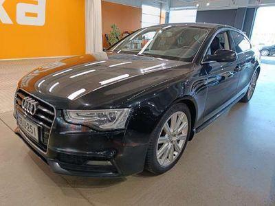 käytetty Audi A5 Sportback Business 2,0 TDI 140 kW quattro S tronic S-LINE ** Webasto / Adapt.vakkari / Rotor-vanteet / Koukku / Nahka/Alcantara **