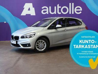 käytetty BMW 218 Active Tourer *KOTIINTOIMITUS*F45 100kW Aut. Tarkastettuna, Rahoituksella, Kotiin toimitettuna!