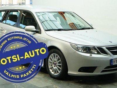 käytetty Saab 9-3 9-3 *MAHTAVA*SportCombi 1.8t BioPower Manual, 129 kW, 2009 Rahoituksella, Kotiin toimitettuna!