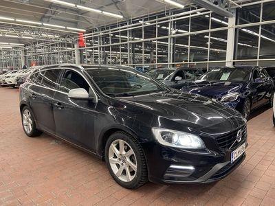 käytetty Volvo V60 T3 Business Classic R-Design aut *** J. autoturva saatavilla, J. kotiintoimitus
