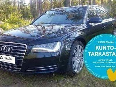 käytetty Audi A8 *KOTIINTOIMITUS*3.0 V6 TDI quattro Start-Stop 184kW Aut. Tarkastettuna, Rahoituksella, Kotiin toimit