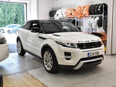 käytetty Land Rover Range Rover evoque Coupé 2,2 SD4 Dynamic Aut ** Webasto / Meridian / Lasikatto / Kamera / Muistipenkit / Suomiauto **