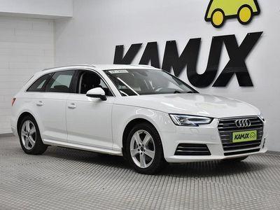 käytetty Audi A4 Avant Business 2,0 TDI 140 kW quattro S tronic ## KAUKO WEBASTO # VETOKOUKKU TAITTUVA # LED VALOT##