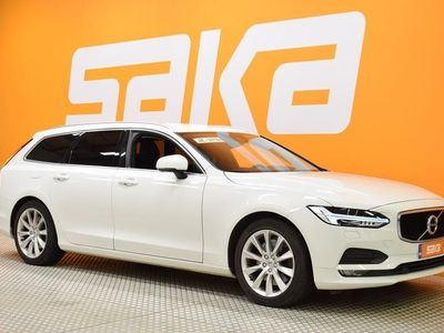 käytetty Volvo V90 T5 BI-Fuel Momentum aut ** Led / Adapt. cruise / Koukku / Navi / VOC / BLIS / Ratinlämmitin **