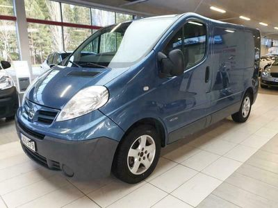 käytetty Nissan Primastar 2,0 dCi 114 Van 2.9 t L1H1 6MT / Webasto / Cruise / Ilmastointi