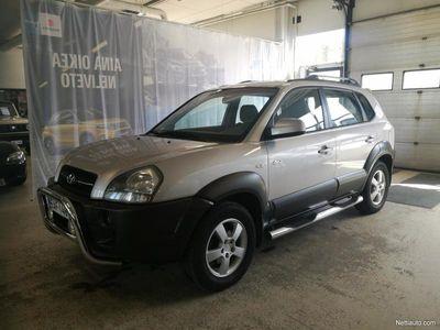 käytetty Hyundai Tucson 2,0 CVVT GLS 4WD AAC ESP