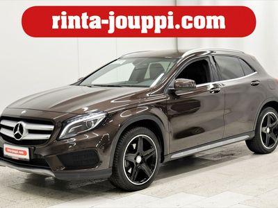 käytetty Mercedes GLA220 GLA4Matic AMG - Huippuhieno GLA! AMG-sisä ja ulkopaketti, Peruutuskamera, Kuolleenkulmanvaroitin...