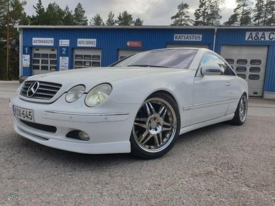 käytetty Mercedes CL600 V12 270kw Brabus