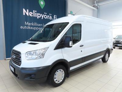 käytetty Ford Transit Van 350 2,2 TDCi 125 hv ECOnetic L3 H2 etuveto 4,19 - Tähän autoon 5000 €:n S-Bonuskirjaus!