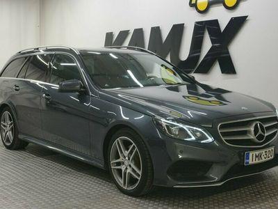 käytetty Mercedes E250 CDI BE T 4Matic A AMG-Line Avantgarde Suomi-Auto / LED-ILS / Webasto / Panorama / Koukku /