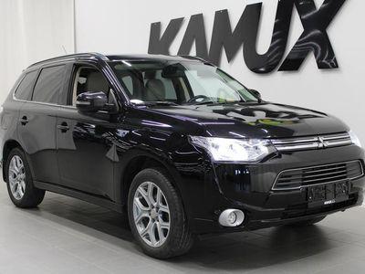 käytetty Mitsubishi Outlander P-HEV PHEV 2.0 Hybrid 4WD CVT **ADAPTIIVINEN VAKKARI, PERUUTUSKAMERA, NAVI, NAHKASISUSTUS**