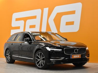 käytetty Volvo V90 T5 Bi-Fuel Inscription aut ** Adapt. cruise / Digimittaristo / Webasto / Adapt. LED / Nahkasisusta / Navi / BLIS **