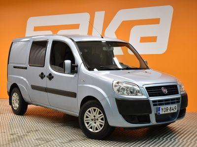 käytetty Fiat Doblò 1,9 Multijet Maxi Van 4,0 m3 SX ** Leimattu 1/21 / Suomi-auto / Vetokoukku / Lohko+sisäpistoke **