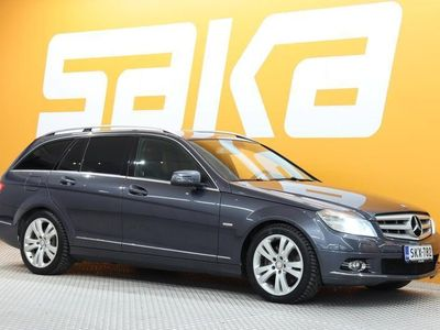 käytetty Mercedes C320 CDI T 4Matic A ** Webasto / Navi / Bi-Xenon / Tutkat / Vetokoukku / BT **