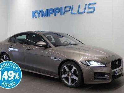 käytetty Jaguar XE 20d R-Sport Plus Aut **** Korko 0,99% + min. 1500 EUR takuuhyvitys ****