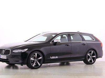 käytetty Volvo V90 D4 Business R-Design A - rahoitustarjous 1,9 % + kulut Winter, Technic, on call, koukku