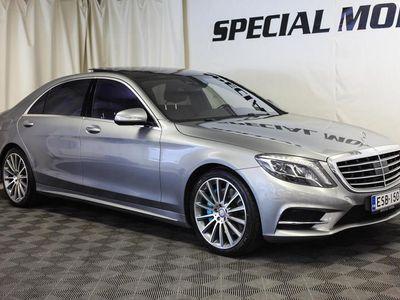 käytetty Mercedes S500 Plug-In Hybrid L (AMG Plus, Air Balance, Ajoavustin Plus, Burmester, Panorama)