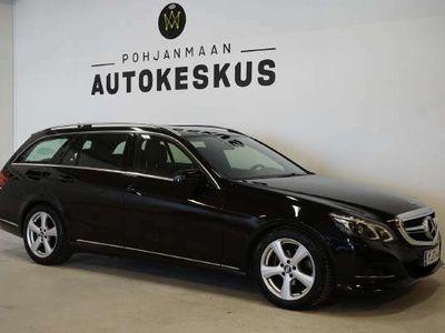 käytetty Mercedes E200 CDI BE T A - ** Korko 2,49%!! Kotiintoimitus !!! ** - ** ILS / Sähköluukku / Tutkat **