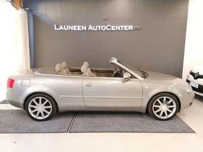 käytetty Audi A4 Cabriolet 3,0 162 kW multitronic-autom