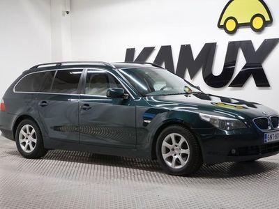 käytetty BMW 530 530 D Farmari (AC) 5ov 2993cm3A#NAHKASISUSTA#LOHKOLÄMMITIN+SISÄP#HUOLTOKIRJA#
