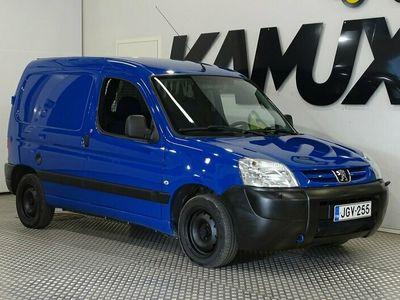 käytetty Peugeot Partner Fourgon 1.4l / ALV / Ilmastointi / Harvinainen bensa /