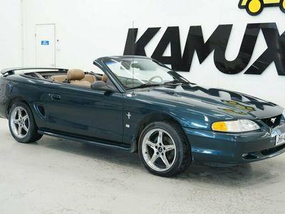 käytetty Ford Mustang GT Hatchback 5,0 V8 3d aut. / Avoauto / Automaatti / AC / Sähkösäätöinen istuin kuljettajalla /