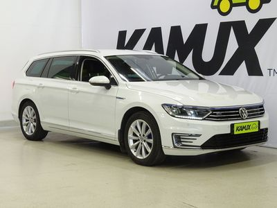 käytetty VW Passat Variant GTE Plug-In Hybrid 160 kW ** BLACK WEEKEND ** / Alv- / Adapt.vakkari / Peruutustutkat / Nahk
