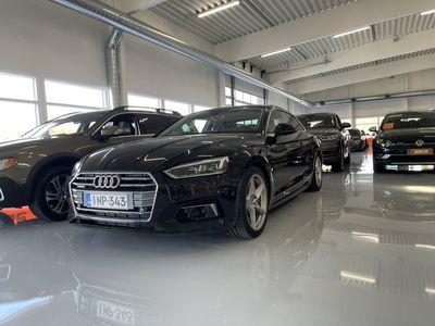 käytetty Audi A5 Coupé Business Sport 2,0 TFSI 185 kW quattro S tronic. ** Digimittaristo / Adapt .vakkari / Nahkapen