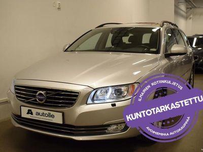käytetty Volvo V70 *KAASU* 2.0 T5 Bi-Fuel Aut. 180kW, 2016, Katsastettuna, Rahoituksella, Kotiin toimitettuna!
