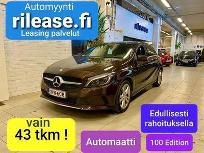 käytetty Mercedes A180 Automaatti Suomi 100 Edition. Suomiauto . 1-omistaja. sis ALV