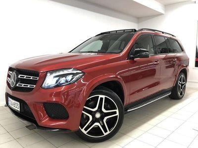 "käytetty Mercedes GLS350 d 4Matic AMG, Distronic Plus vak.nop, Webasto, Panoraama, 21"", 360, Airmatic, Muistipenkit"