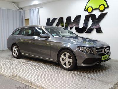 käytetty Mercedes E220 T A Premium Pro / LED / SÄHKÖLUUKKU / PERUUTUSKAMERA /