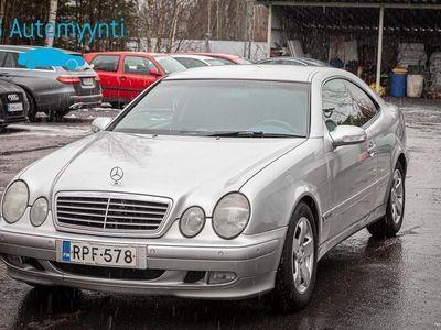 käytetty Mercedes CLK320 Coupe 2d A