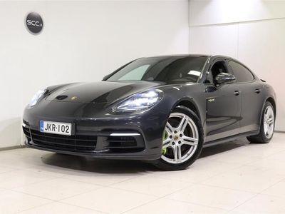 käytetty Porsche Panamera 4 E-Hybrid, Panorama, BOSE, 14-suuntaiset istuimet, Navi, Täysnahkaverhoilu, Alcantara sisäkatto