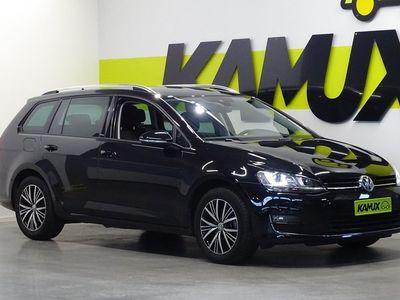 käytetty VW Golf Variant Allstar 2,0 TDI 110 kW (150 hv) DSG-automaatti / Webasto / Peruutuskamera / Vetokoukku