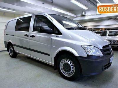 käytetty Mercedes Vito 110CDI -3,05/32K keskip A2 Trend (VM12) ***Vakkari, vetokoukku, ilmastointi, pariovet yms***