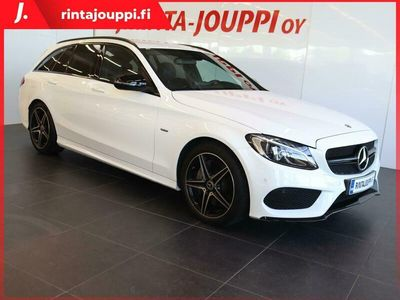käytetty Mercedes C350e T A Premium Business AMG Styling *** J. autoturva saatavilla, J. kotiintoimitus