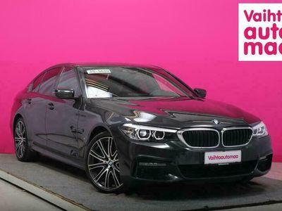 käytetty BMW 530 e iPerfomance M-Sport # Nahat # Huippuhieno yksilö pikkukilsoilla # KATSO!