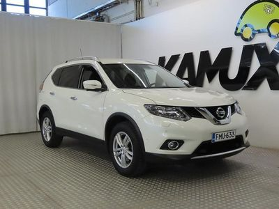 käytetty Nissan X-Trail dCi 177 Business 360 4WD Xtronic ** Navigointi - Webasto/Eber kellolla - Around View Monitor -kamera
