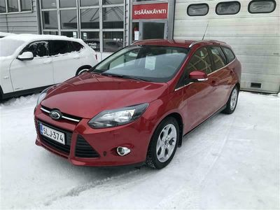 käytetty Ford Focus 1,0 EcoBoost 125 hv Start/Stop Titanium M6 Wagon