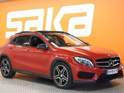 käytetty Mercedes GLA220 d 4Matic A ** AMG / Cruise / Panorama / Navi / Nahka-alcantara / Peruutuskamera / Tutkat / HUIPP