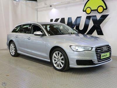 käytetty Audi A6 Avant 3,0 V6 TDI 150 kW quattro S tronic Start-Stop **BI-XENON,WEBASTO KELLOLLA,TUTKAT ETEEN JA TAAK