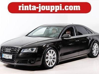 käytetty Audi A8 Sedan 4,2 V8 TDI DPF Q A Executive (MY13 - 4,2 V8 / Suomi-auto / BOSE / Adaptiivivakkari / Nigh visi