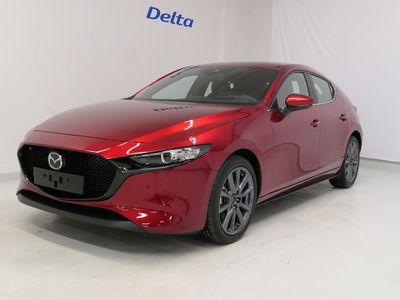 käytetty Mazda 3 Hatchback 2,0 (180hv) M Hybrid Skyactiv-X AWD Elegance MT Red